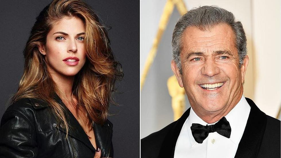 Stephanie Cayo graba película junto a Mel Gibson en Puerto Rico . (AFP)