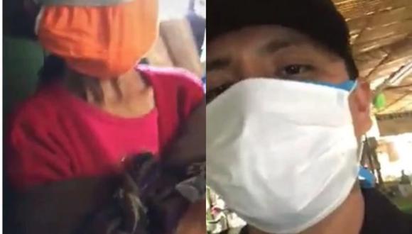 Policía que le compró víveres a una anciana contrajo el COVID-19 y lucha contra el virus