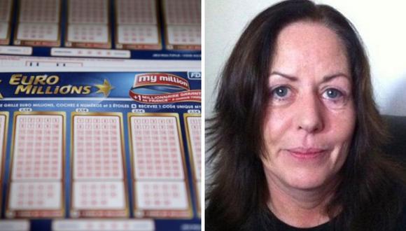 Margaret Loughrey ganó en el 2013 más de 30 millones de euros, pero ahora fue hallada muerta. (Foto: Facebook / AFP)