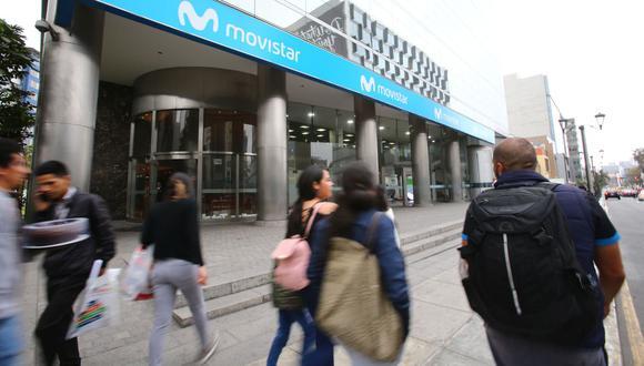 Movistar ha tenido la obligación de remitir comunicaciones al correo electrónico o el domicilio de los usuarios afectados por el alza de tarifas. (Foto: Hugo Curotto / GEC)