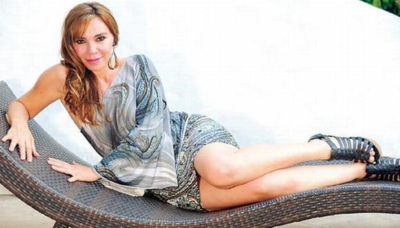 Ina Andrade acompañó a Antauro Humala en el Hospital Militar en Año Nuevo. (Difusión)