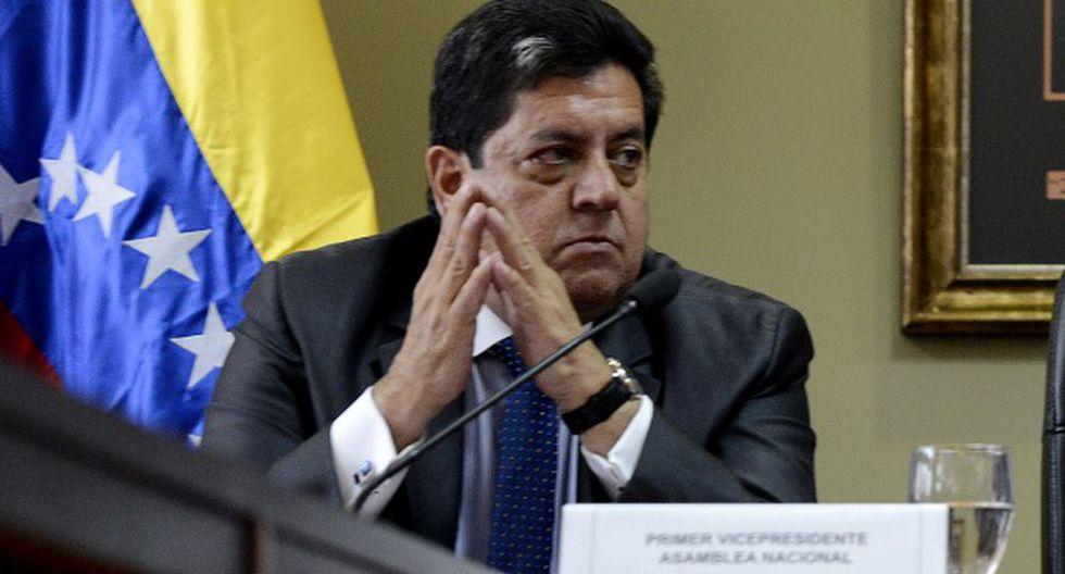 Zambrano es uno de los diez diputados imputados por el TSJ por participar en la fallida rebelión del 30 de abril, bajo el liderazgo de Guaidó. (Foto: AFP)