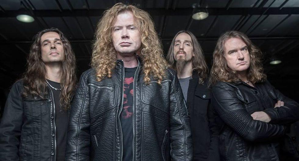 Dave Mustaine, líder de Megadeth, volverá a tocar en octubre. (Foto: @Megadeth)