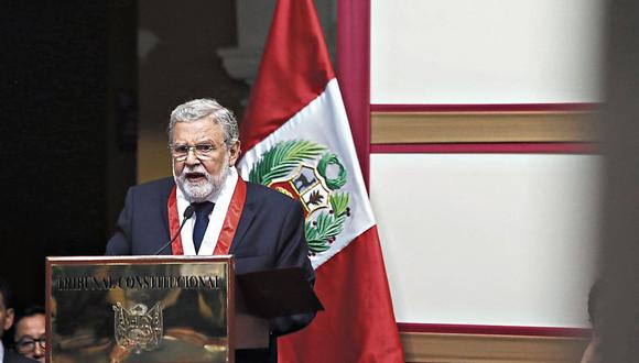 POSICIÓN. TC espera que se archive denuncia contra magistrados. (RenzoSalazar/Perú21)