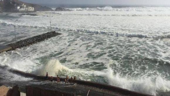 Se estima el restablecimiento de las condiciones normales en las últimas horas de la noche de este lunes en el litoral sur y centro. (Foto: El Comercio)