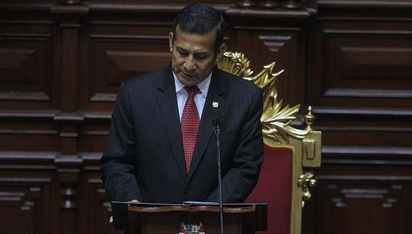 Aprobación de Humala cayó a 25%, el peor nivel de su mandato. (Nancy Dueñas)