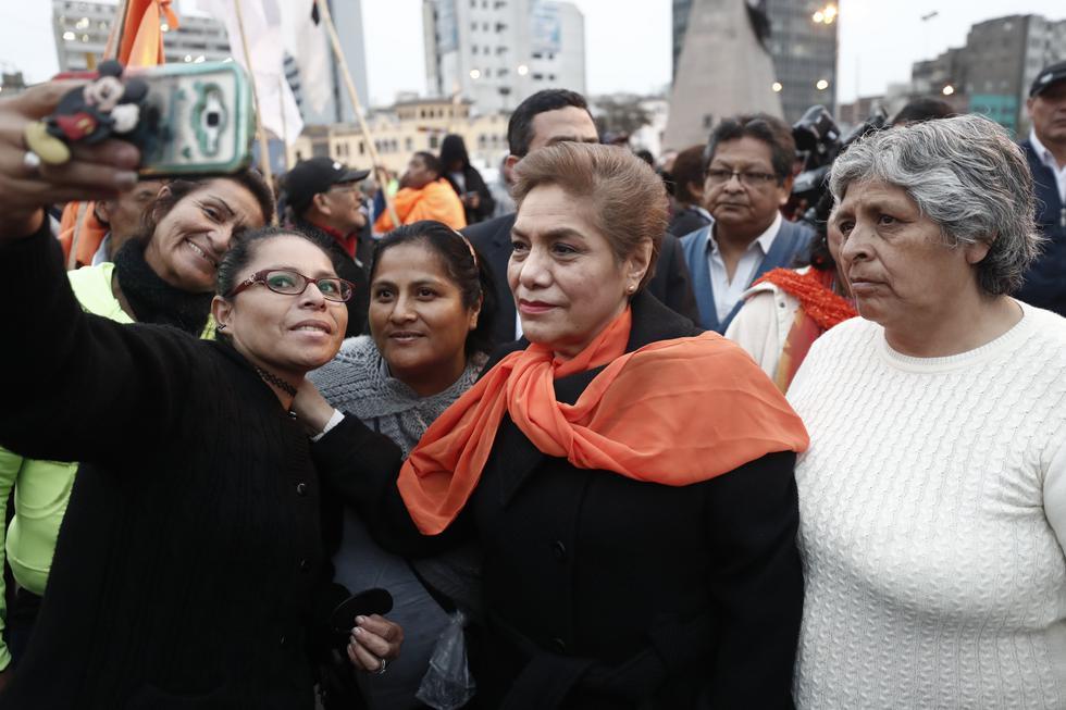 Luz Salgado consideró que hay temor por parte de Alan García. (Perú21)