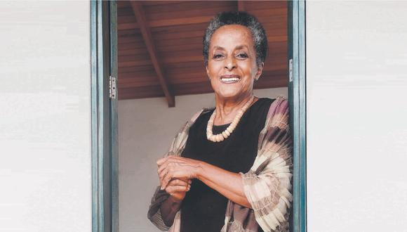 Susana Baca grabó nuevo disco 'A capella' en su casa, en Cañete.