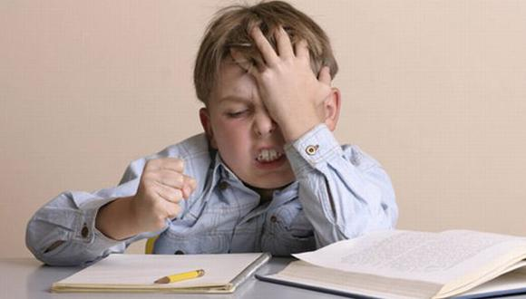 En vez de castigar a los hijos por su mal rendimiento escolar, póngales un desafío: aprobar los cursos. Motívelos. (Internet)