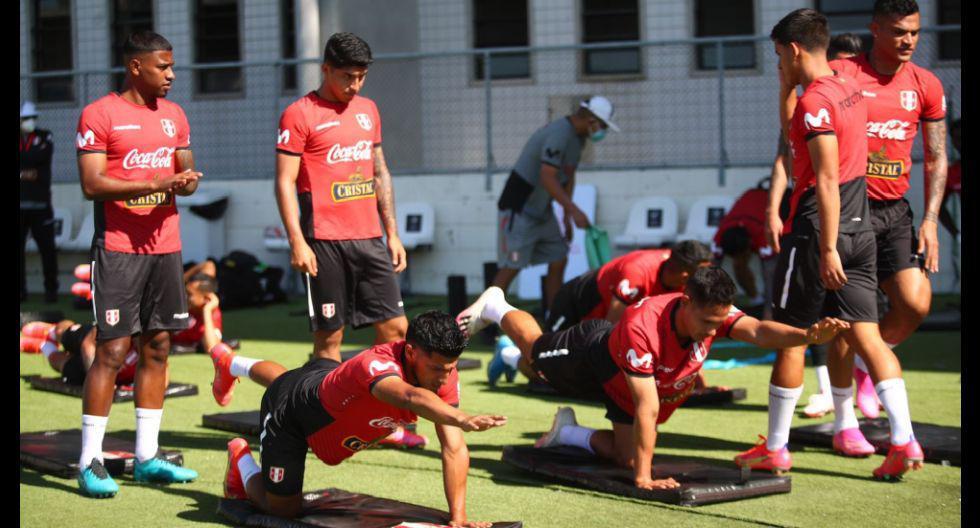 Así fue la primera práctica de la selección peruana en Río de Janeiro. (Foto: FPF)