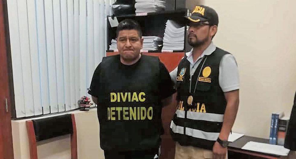 Detenido. El exjuez Roberto Salas fue intervenido en la Corte.