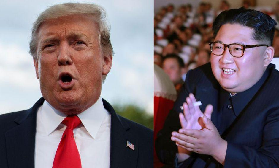 """Donald Trump dice haber recibido una """"preciosa carta"""" de norcoreano Kim Jong-un. (EFE / AFP)"""