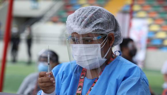 COVID-19: pacientes oncológicos y con VIH serán vacunados desde este sábado (Foto: Britanie Arroyo/ GEC)
