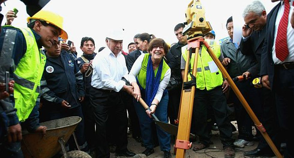 Villarán también supervisó obras en la playa La Herradura, en Chorrillos. (Andina)