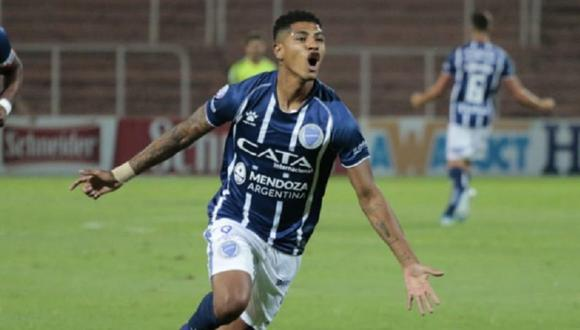 Wilder Cartagena llegó a Godoy Cruz a inicios del 2020. (Foto: Godoy Cruz)