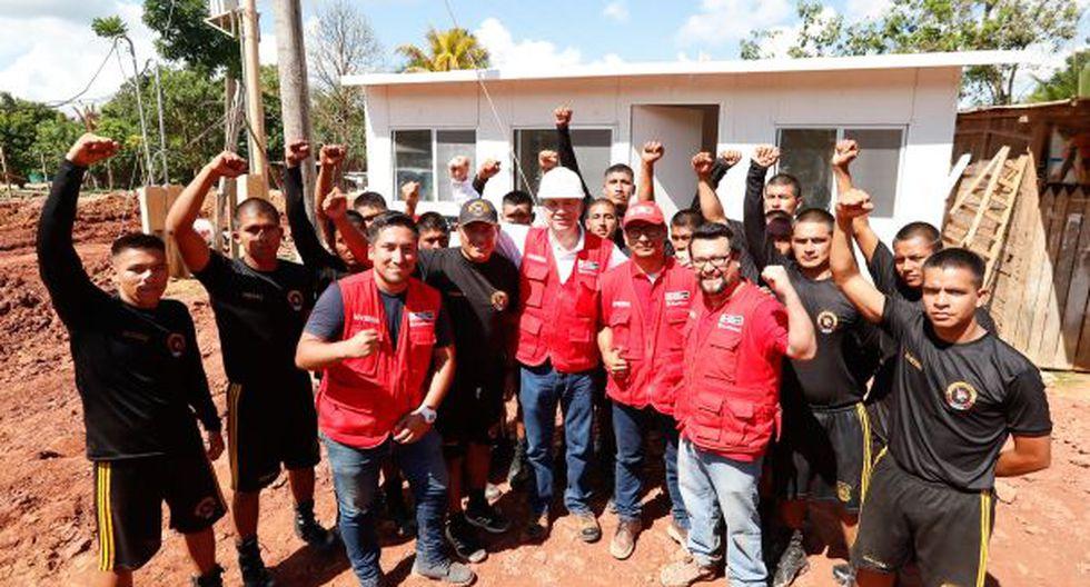 El Ministerio de Vivienda, Construcción y Saneamiento (MVCS) instaló las primeras viviendas de emergencia para las familias afectadas por el fuerte sismo. (Foto: Ministerio de Vivienda)