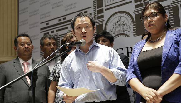 Kenji Fujimori y los denominados 'Avengers' renunciaron a Fuerza Popular una vez concedido el indulto a Alberto Fujimori. (Foto: GEC)