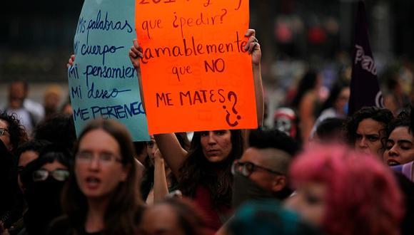 Feminicidio en México.