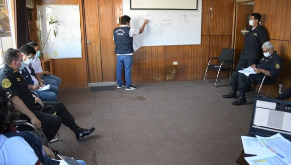 Lambayeque: realizan coordinaciones para el resguardo del segundo lote de vacunas contra el COVID-19 (Foto: Gore Lambayeque)