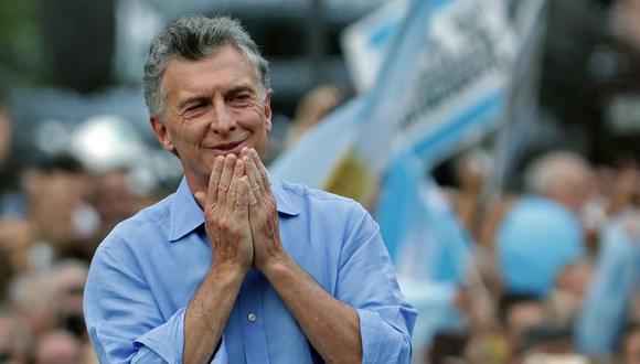 Expresidente de Argentina, Mauricio Macri, en Buenos Aires. (Foto referencial: AFP)