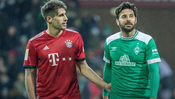 Claudio Pizarro, campeón de la Copa de Alemania en seis ocasiones a lo largo de su histórica carrera, podría afrontar su novena final copera.(Foto: Werder.de)