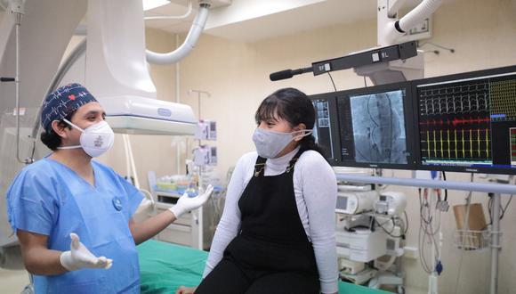 Niña superó sus problemas cardíacos con novedoso tratamiento en Hospital Almenara de EsSalud (Foto: EsSalud)