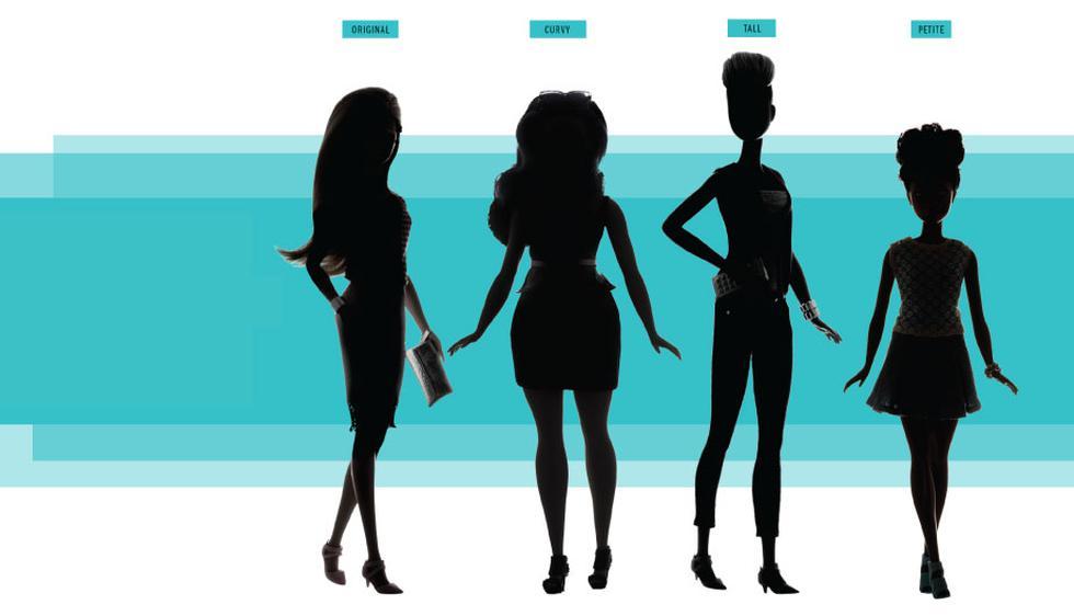 Barbie: Mattel lanza tres tipos de cuerpos nuevos para la famosa muñeca. (TIME)