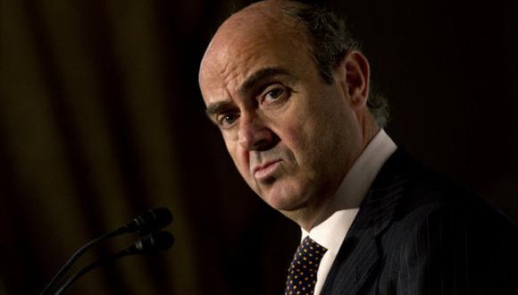 De Guindos se refirió a artículo publicado en el diario The Wall Street Journal. (Pedro Madueño/La Vanguardia)