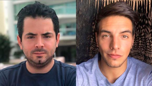 """Los hijos varones del comediante Eugenio Derbez aclararon los rumores de la supuesta """"mala relación"""" que tienen (Foto: José Eduardo y Vadhir Derbez / Instagram)"""