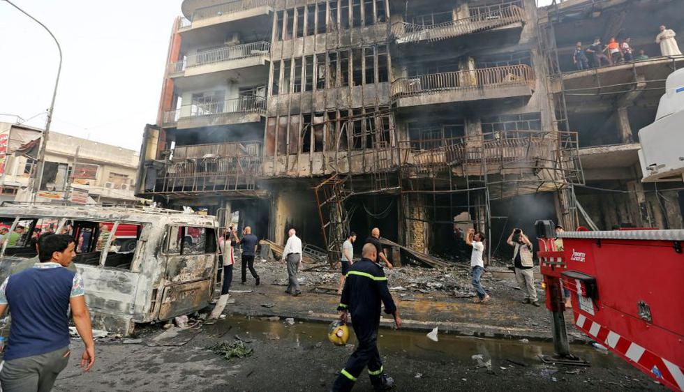 Atentado en Bagdad: Al menos 95 muertos tras ataque reivindicado por Estado Islámico. (EFE)