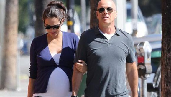 Bruce Willis se convierte en padre de una niña por quinta vez. (x17online.com)