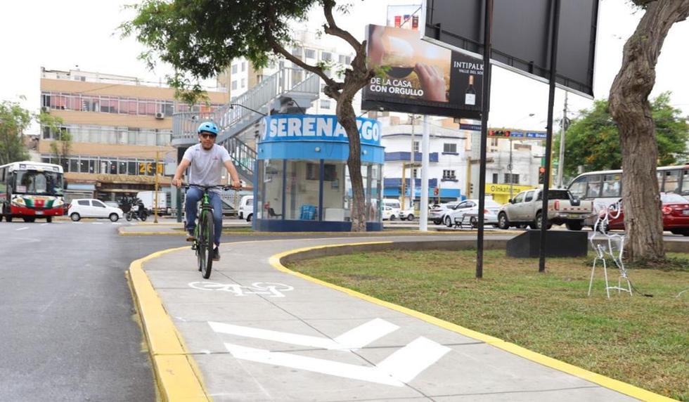La ciclovía ya puede ser utilizada. (Foto: Difusión)
