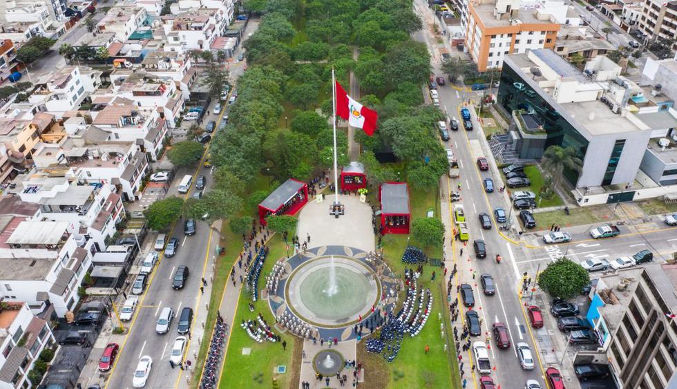 El municipio de San Borja detalló que se trata de espacio público dedicado a rendir homenaje a la patria, reafirmando el sentimiento patriótico y el civismo. (Difusión)