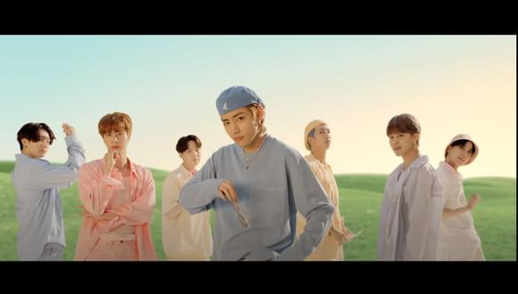 """BTS presentó """"Dynamite"""", su nuevo sencillo completamente en inglés en agosto del 2020. (Foto: Captura de video)"""