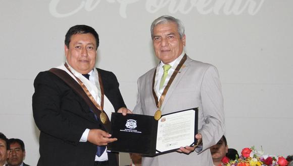 Coordinador político de APP en Trujillo afirma que el alcalde de El Porvenir, Paúl Rodríguez (izquierda), es relacionista público del burgomaestre de Trujillo, Elidio Espinoza.