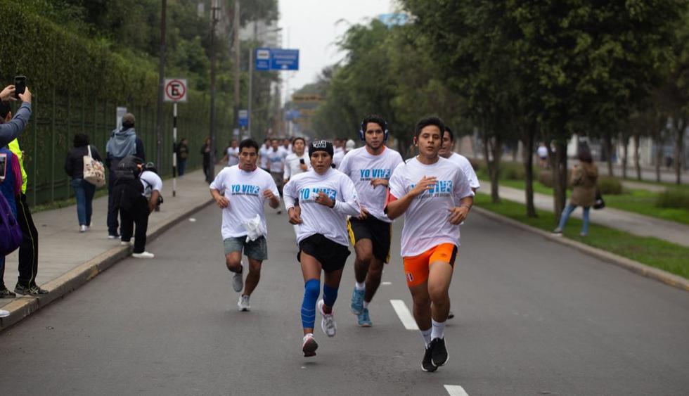 """Más de cinco mil personas participaron en la carrera 5K denominada """"Yo vivo sin drogas, tú decides"""". (Foto: Difusión)"""