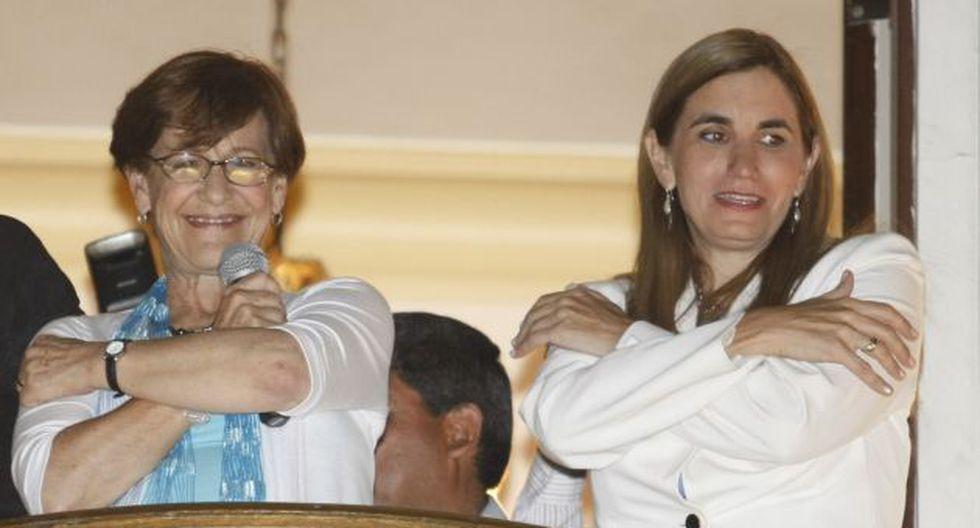 Susana Villarán designó a Anel Townsend como su asesora de comunicaciones. (Perú21)