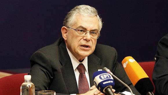 Lucas Papademos también tiene que buscar respaldo a más medidas de austeridad. (Reuters)