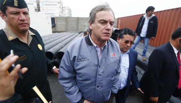 Carlos Basombrío, ministro del Interior. (Perú21)