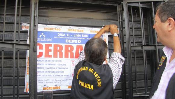 El operativo contó con la participación de personal de la Digemis y de la Disa Lima Sur. (Andina)