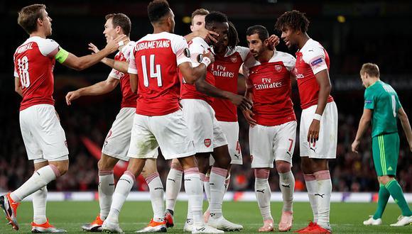 Arsenal no podrá contar con Mkhitaryan en su duelo ante el Qarabag por la Europa League. (Foto: Reuters)