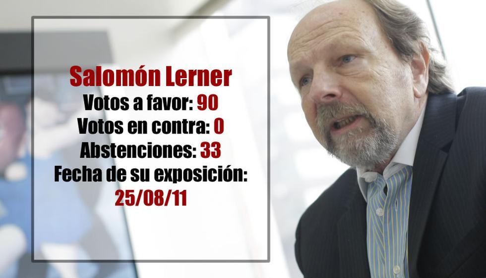 Lerner fue el primer jefe de la PCM del gobierno. (USI)