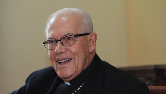 Monseñor Luis Bambarén Gastelumendi falleció a los 93 años de edad. (GEC)