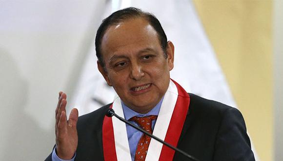 Walter Gutiérrez también anunció que la Comisión Especial acordó reunirse todos los lunes a partir de las 16:00 horas. (Foto: Agencia Andina)