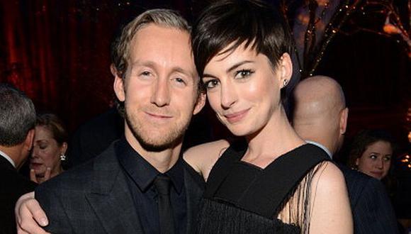 Anne Hathaway espera su primer hijo con su esposo Adam Shulman. (Getty Images)