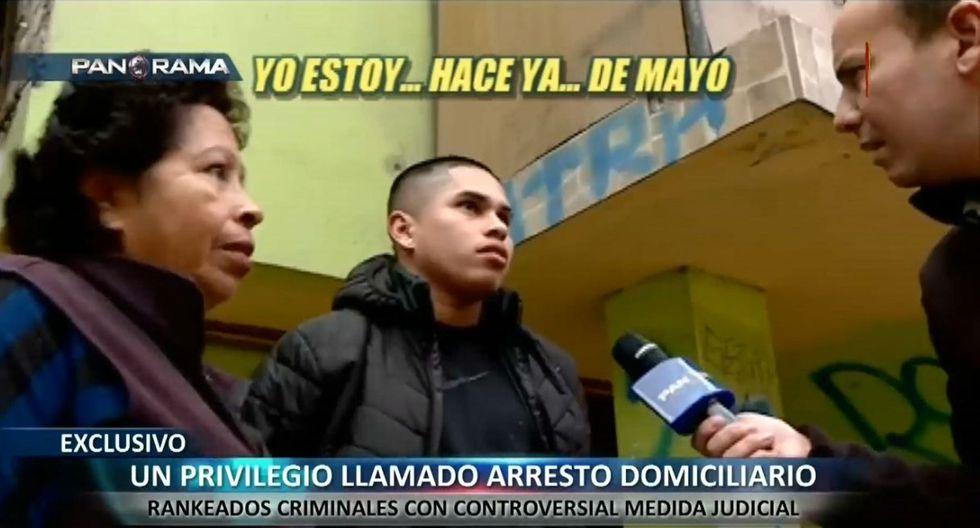 Un reportaje de Panorama demostró que muchos de estos hampones violan la detención domiciliaria.