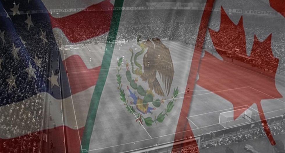 Estados Unidos, Canadá y México oficializaron su candidatura al Mundial 2026.