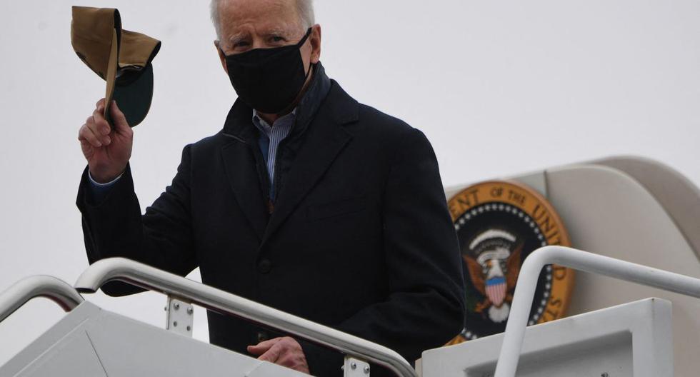 Imagen de Joe Biden, presidente de Estados Unidos. (Foto de SAUL LOEB / AFP).