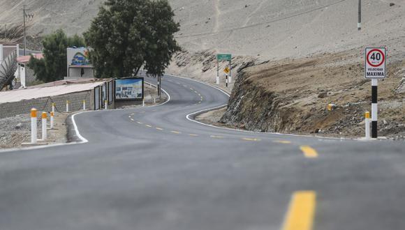 Se normalizó el tránsito en la región Moquegua, en especial en la carretera Binacional a la altura del Puente Tumilaca, sector de El Molino. (Foto: Referencial)