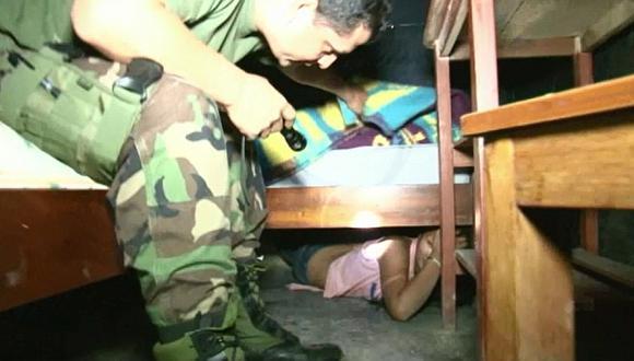 Luz de esperanza. Autoridades salvaron a menores de las garras de la prostitución en Junín. (Defensoría del Pueblo)